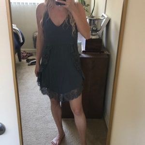 Free People Slip Dress with lace